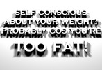 FUNNY WEIGHT LOSS MESSAGE / DESKTOP BACKGROUND